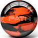 Pyramid Path Orange/Black Bowling Balls