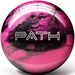 Pyramid Path Pink/Black Bowling Balls