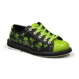Pyramid Youth Skull Green/Black