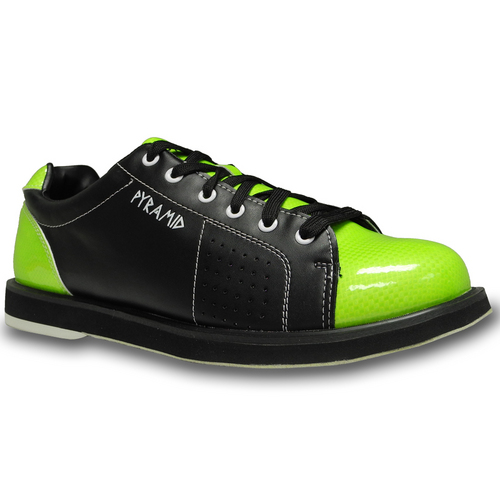 pyramid s path black lime green bowling shoes free