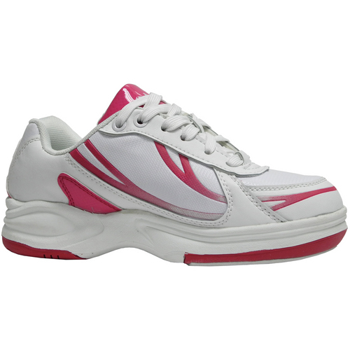 pyramid path sport s white pink bowling shoes