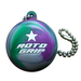 Roto Grip Cell Half Ball Key Chain Front of Keychain