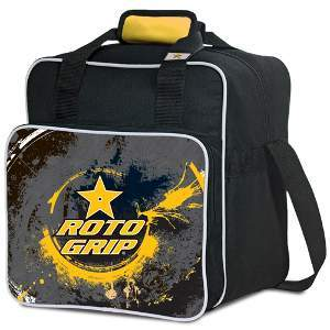 Roto Grip 1 Ball Tote Yellow/Charcoal/Black