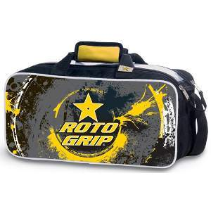 Roto Grip 2 Ball Tote Yellow/Charcoal/Black
