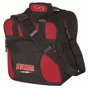 Storm Solo 1 Ball Tote Black/Red