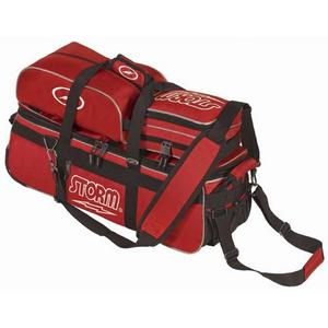 Storm Triple Tournament Deluxe Tote Red