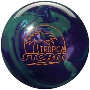 Storm Tropical Storm Teal/Purple Pearl