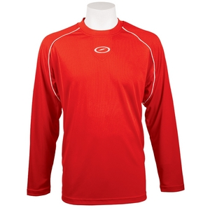Storm Forward Long Sleeve Crew Scarlet