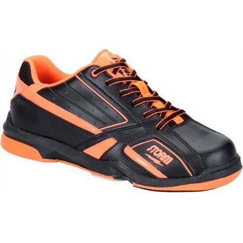 Etonic Black Gold Silver Flame Mens Bowling Shoes