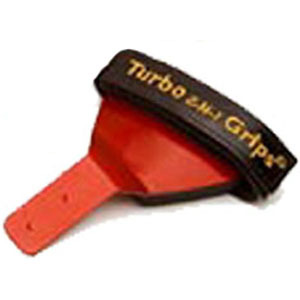 Turbo 2-N-1 Grips Bulldog Wrist Support Red Forward Attachment Left Handed