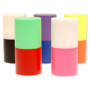 Turbo 2-N-1 Grips Duo-Colored Urethane Thumb Slugs