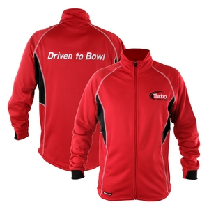 Turbo 2-N-1 Grips 2012 Driven to Bowl Tour Track Jacket Scarlet/Black/White