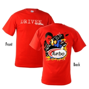 Turbo 2-N-1 Grips Bill O'Neill Driven to Bowl T-Shirt