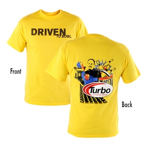 Turbo 2-N-1 Grips Mika Koivuniemi Driven to Bowl T-Shirt