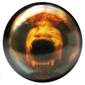 Viz-A-Ball Grizzly Bear