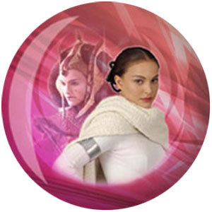 Viz-A-Ball Star Wars Princess Leia & Padme Amidala