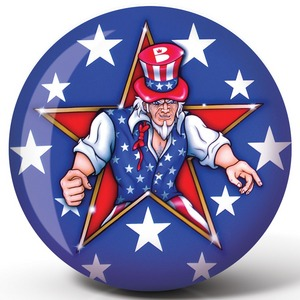 Viz-A-Ball Uncle Sam