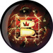 Viz-A-Ball Brunswick Logo 10 Only Bowling Balls
