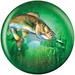 Viz-A-Ball Game Fishing Glow Side 1