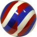 Viz-A-Ball Spiral Red/White/Blue 8 10 16 ONLY
