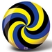 Viz-A-Ball Spiral Yellow/Black/Blue Bowling Balls